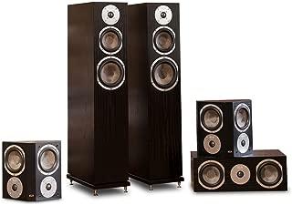 KLH Quincy 5.0 Speaker System (Black Oak)
