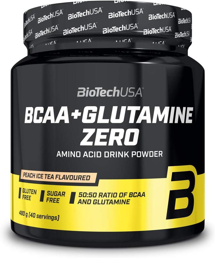 Biotech Usa Bcaa + Glutamine Zero 480gr Orange