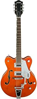 gretsch orange guitar