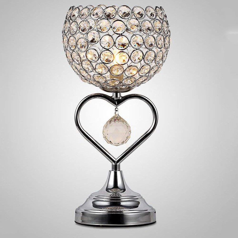 Mode Kreative Kristall Tischlampe Schreibtisch Licht Schlafzimmer Kopfteil Romance Warme Lampe E27 1-Head Led Desktop Beleuchtung, taste Schalter