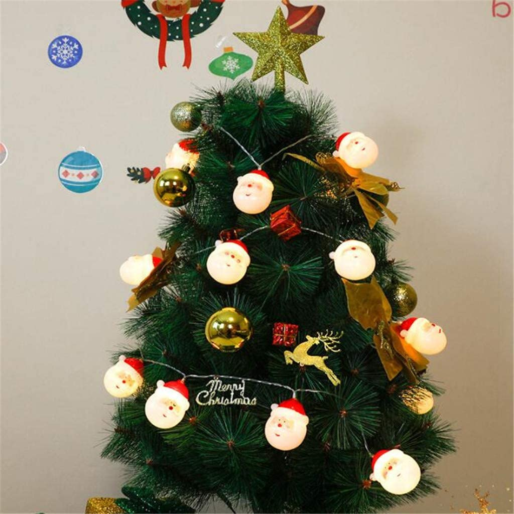 National products WP Outdoor Decorative String Lights Santa Super special price Chris Shape and Claus