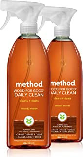 Method Daily Wood Surface Cleaner, 28 Ounce (Pack of 2)