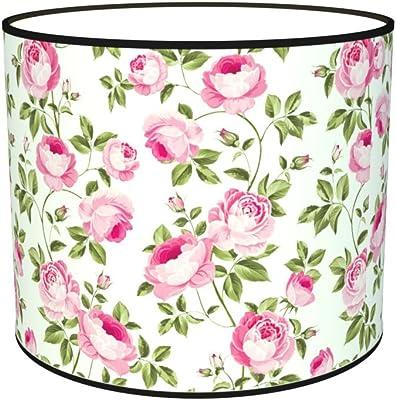 Abat-jours 7111309055233 Imprimé Léonni Lampe de Chevet, Tissus/PVC, Multicolore