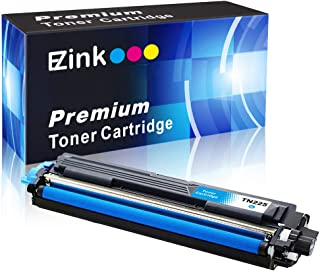 E-Z Ink (TM) Compatible Toner Cartridge Replacement for Brother TN225 C Cyan to Use with HL-3140CW HL-3170CDW MFC-9130CW MFC-9330CDW MFC-9340CDW HL-3180CDW DCP-9020CDN Laser Printer (Cyan, 1 Pack)