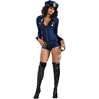 Rubies s Oficial Miss Comportamiento Policía Lady Adult Costume ...