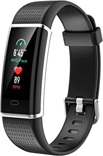 CHEREEKI Fitness Trackers, Heart Rate Monitor Activity Tracker Fitness Watch with IP68 Waterproof, 14 Sports Modes Smart Band, Color Screen, Calorie Counter, Sleep Monitor for Kids Women Men