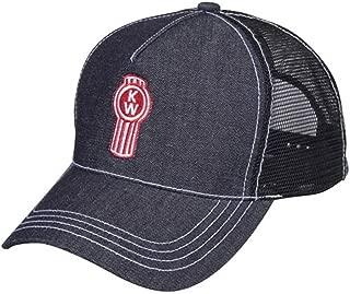 BD&A Kenworth Trucks Motors Dark Denim Mesh Snapback Cap/Hat