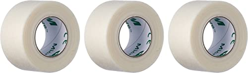 3M Micropore™ - 2.5 cm x 9.14 mt Cerotto delicato in carta, Confezione da 12 pezzi