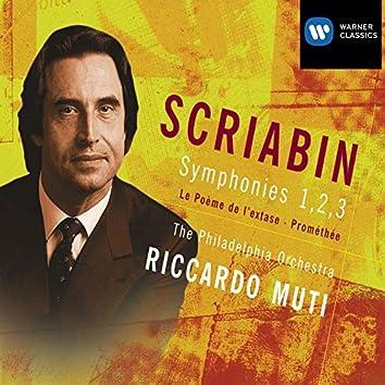 Scriabin: Symphonies 1, 2, 3
