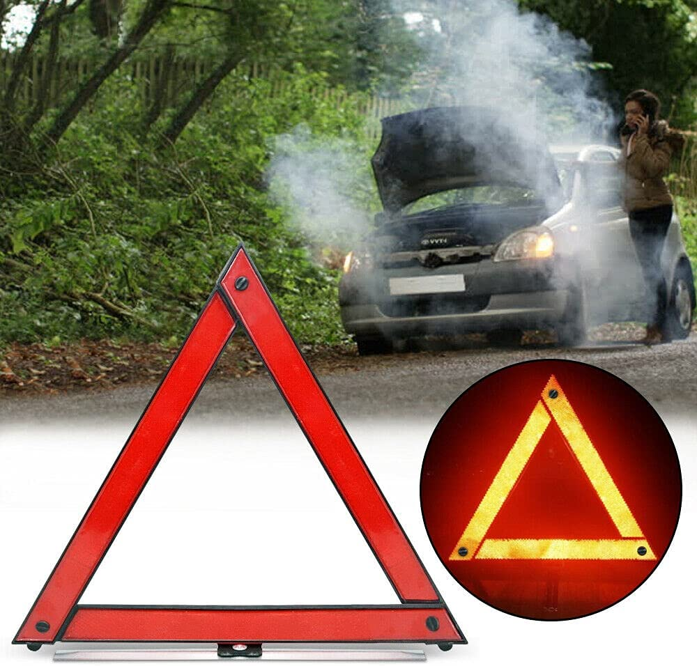 C Denver Mall S Safety Triangle kit Roadsid Emergency Reflector Road Warning Albuquerque Mall
