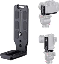 WLPREOE DSLR Camera L-Bracket Vertical Horizontal Switching Tripod Head Quick Release Plate Arca Swiss Compatible with Dig...