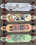 BUSDUGA Longboard Skateboard aus Ahornholz