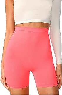 Women's Biker Yoga Gym Bodycon Shorts High Waist Active Workout Running Leggings Sexy Stretch Hot Shorts