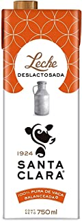 Santa Clara Leche Deslactosada 750ml, Paquete de 6