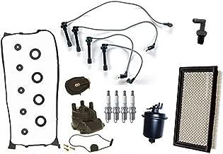 Tune Up 11pc Kit for Honda Civic 96-00 1.6L SOHC w HITACHI Model Cap and Rotor