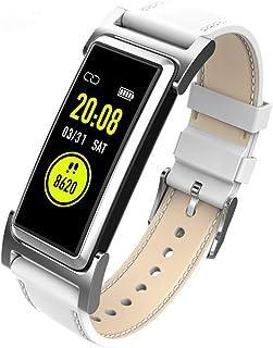 Zomeber Rastreador de Fitness Pantalla 0.96 Pulgadas TFT Color GPS de Seguimiento Inteligente de Pulsera IP68 a Prueba de Agua, Soporte Control de Las pulsaciones/podómetro/Modos Multi-Deportes /