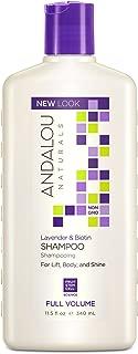Andalou Naturals Lavender & Biotin Full Volume Shampoo, 11.5 Fluid Ounce