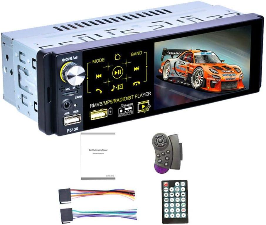 4 1 Zoll Universal Car Mp5 Player Autoradio 1din Autoradio Kapazitiver Touchscreen Stereo Bluetooth Ir Rückfahrkamera Usb Aux Player 7 Farbhintergrundbeleuchtung Am Fm Rds Radio Auto
