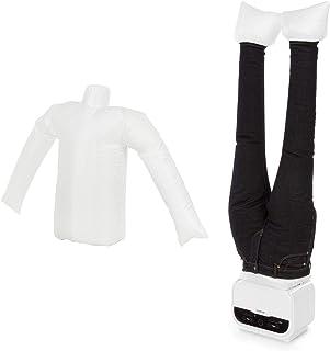 KLARSTEIN ShirtButler Pro - Kit 2 en 1 : sécher et Repasser pour Chemises & Pantalons, Système de Chauffage sécurisé, 1200...
