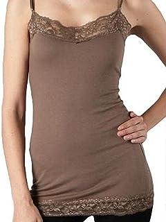 81136b243270a Zenana Outfitters Women s Plus Size Zenana Basic Long Layering Lace Cami
