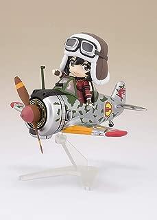 Figuarts mini 荒野のコトブキ飛行隊 キリエ&隼一型 (キリエ仕様) 約130mm PVC&ABS製 塗装済み可動フィギュア