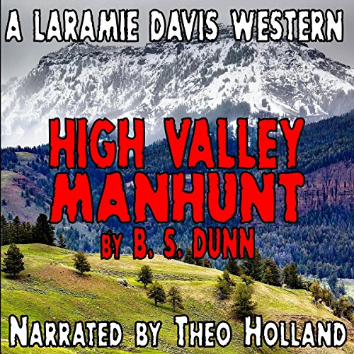 High Valley Manhunt audiobook cover art