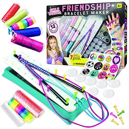 Girlz Squad Friendship Bracelet Making Kit for Girls and Boys - DIY...