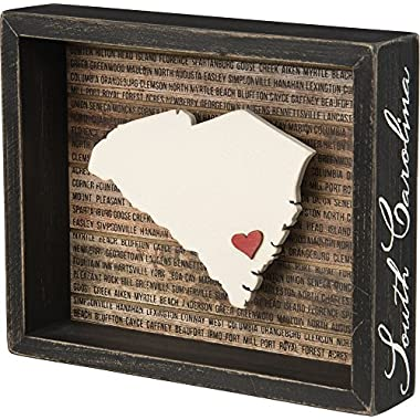 Primitives by Kathy Box Sign, 8.5  x 7 , South Carolina