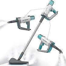 PurSteam Steam Mop Cleaner 12 in 1 for Hardwood/Tiles/Vinyl - Easy-Detachable Handheld Steam Cleaner for Kitchen - Garment...