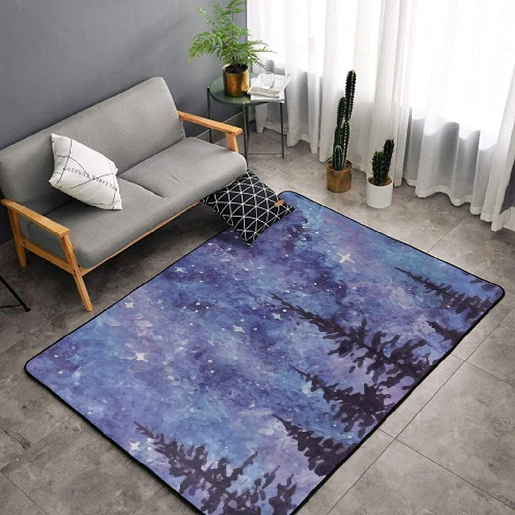 Stranger Discount is also underway Galaxy Tulsa Mall Starry Forest Trees Flannel Chr Thing Microfiber