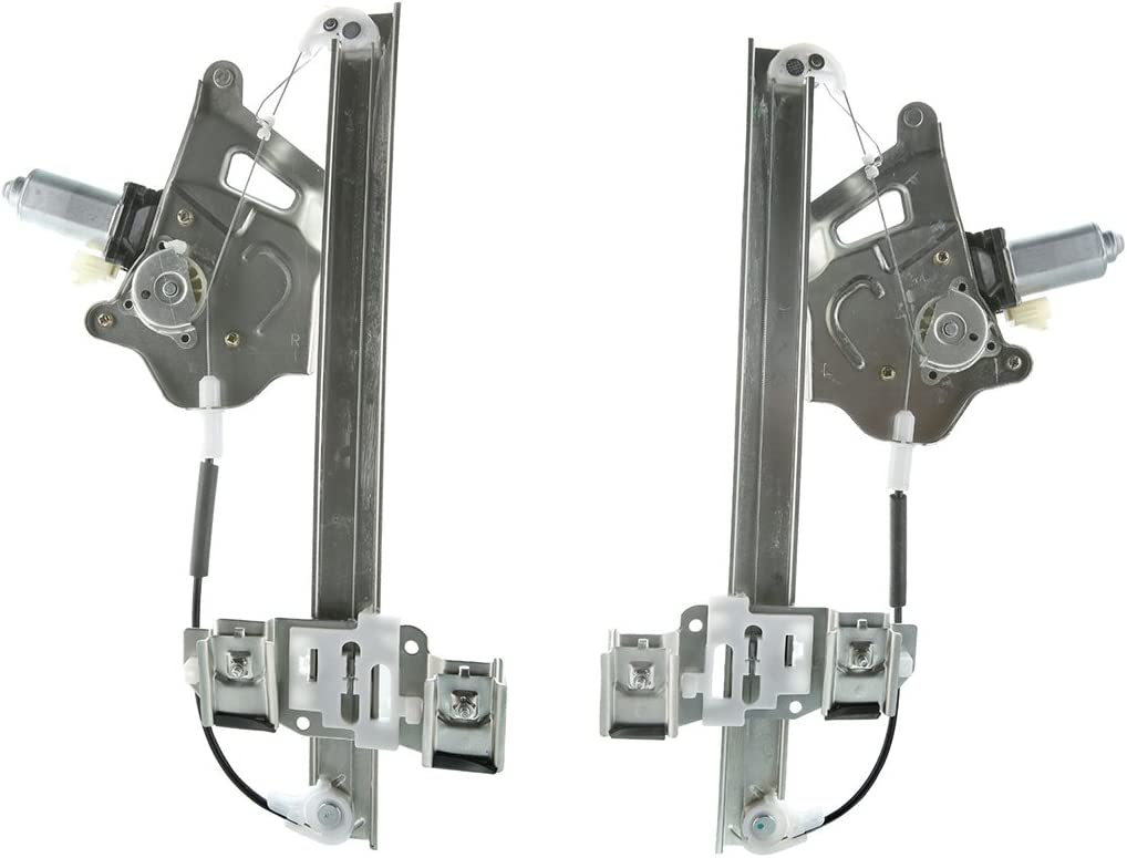 A-Premium Power Window Regulators with Motor Replacement for Bui