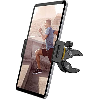 """Lamicall Support Tablette pour Tapis de Course Vélo - Spinning Support pour 4.7""""~13"""" Tablette, 2020 iPad Pro 9.7, 10.5, 12.9, iPad Air 2 3 4, iPad Mini 2 3 4, Samsung Tab, iPhone, d'autres Tablettes"""