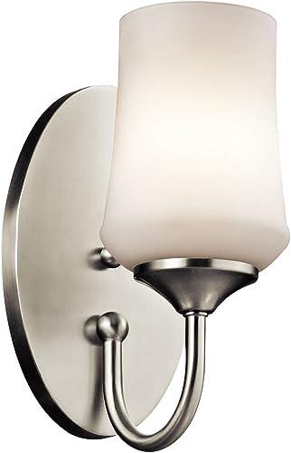 popular Kichler 45568NI One Light online sale online sale Wall Sconce online sale
