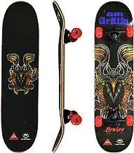 WIN.MAX Skateboard Completo para Adultos y Ni/ños ABEC-7 9 Capas de Madera de Arce Monopatin 31 Inch Carga de 100 Kg para Principiantes y Profesionales
