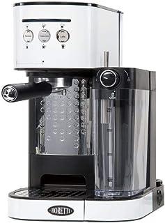 Boretti B402 Espresso Machine, Plastic, 1470 W, 1.2 liters