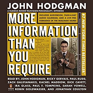 More Information Than You Require audiobook cover art