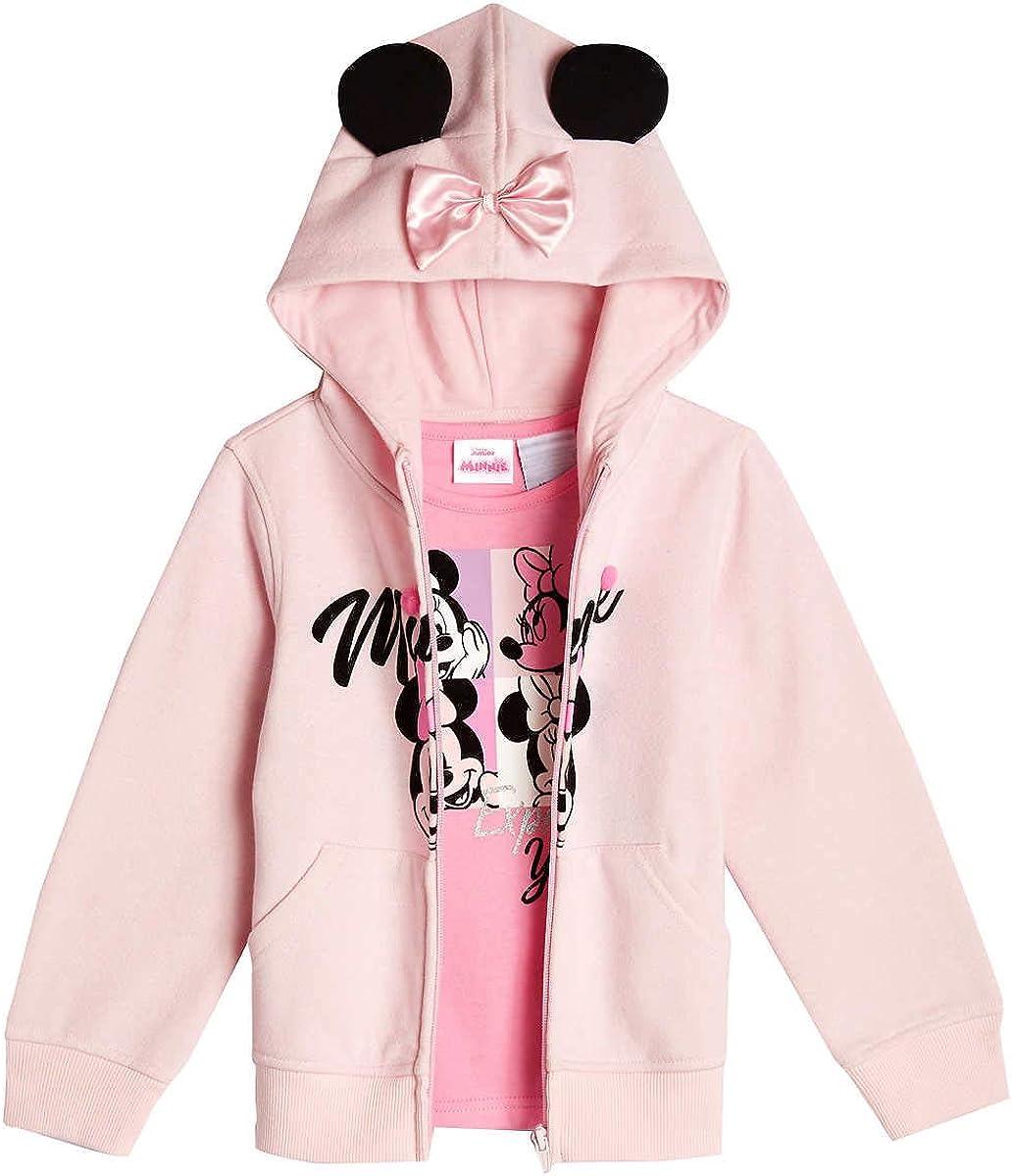 Disney Girls Outlet sale feature 2 Seasonal Wrap Introduction Piece Set Fleece Jacket Shirt Hoodie Tee with