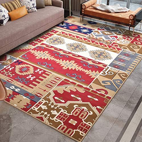 Mianbao Teppich Amerikanischer Stil Wohnzimmer Klassisch Vintage Vintage Marokkanisch Marokkanisch Home Home Kaffeetisch Matte Zimmer Zimmer Teppiche Und Karpfen ETS 120 x 160 cm