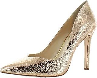 71cec63dedd Jessica Simpson Women s Cylvie Metallic V-Cut Classic Pumps Heels Shoes