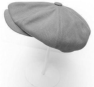 anyuq66qq Sombrero Sombreros De Sombrero Octogonal De Invierno para Mujer Gorra Lisa De Hombre Liso Hombres Damas Sombrero De Lana Casual Boina Gorra De Pintor