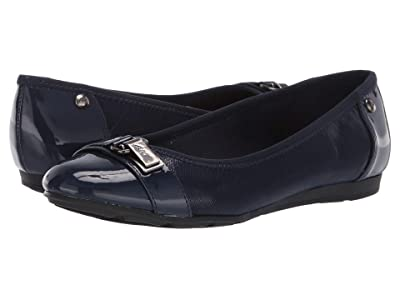 Anne Klein Sport Able Wide (Navy) Women