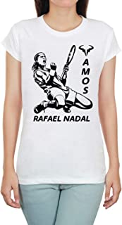 Rafael Nadal Vamos Teen Women Shirt