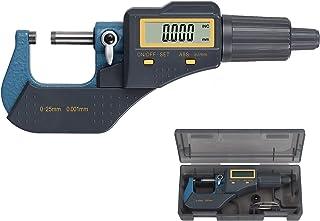 LCD Micrómetro Digital 0-25mm/0-1