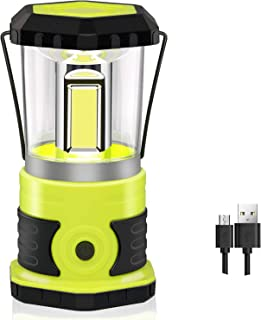 Anhay Rechargeable LED Camping Lantern, 1800 Lumens, 4 Light Modes, IPX44 Waterproof, Ultra Bright Camping Lamp with 4600m...