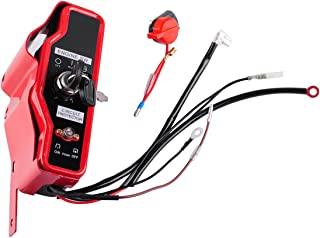 Poweka Ignition Key Switch Box w/Keys Engine Stop On Switch for Honda GX340 GX390 11hp 13hp Gas Engine