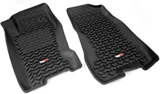 Rugged Ridge 12920.27, All Terrain Floor Liner, Front, Black, 1999-2004 Jeep Grand Cherokee WJ,Small Parcel Shipping