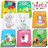 36PCS Easter Coloring Books for Kids-Egg Basket Stuffer Gifts Party Favors Class Activity Supplies Decorations