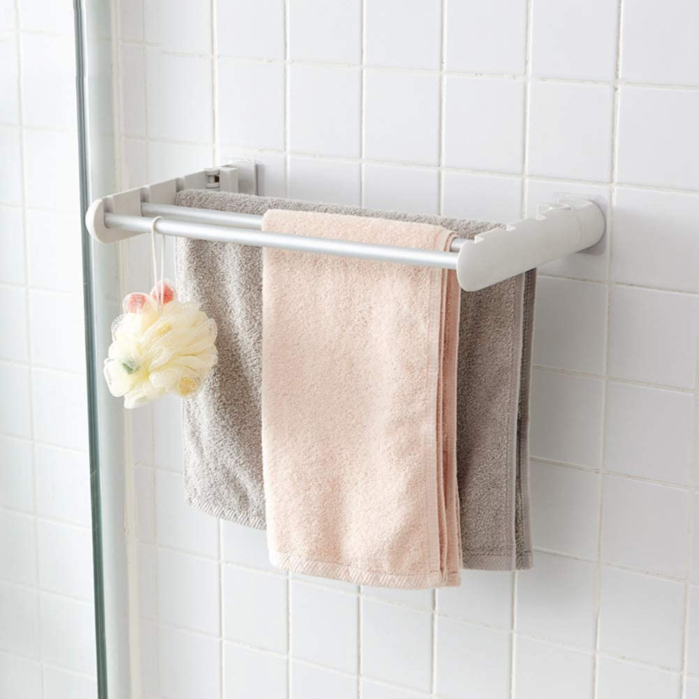 Ranking TOP4 Creative Collapsible Towel Rack Rag Drying Three Atlanta Mall Vertical S