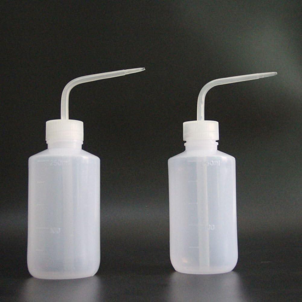 1 year warranty Wash Bottle Squeeze LDPE New Star 2pcs Tattoo M 250ml 8OZ Brand new