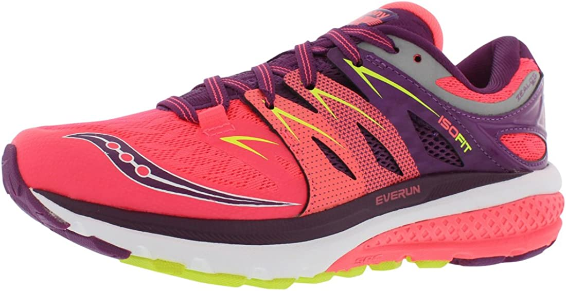 Saucony Women's Zealot Special sale item Iso Louisville-Jefferson County Mall running Shoe 2